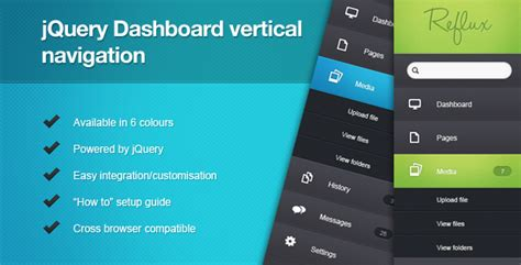 website layout vertical menu jquery dashboard vertical navigation javascript codecanyon