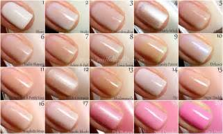 essie nail color essie color guide 1 100 nailderella