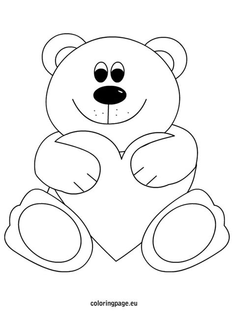 teddy bear with rose coloring page heart clipart suggestions for heart clipart download
