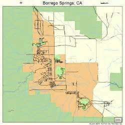 borrego springs california map 0607596