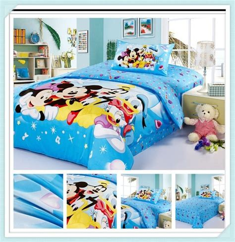 mickey mouse bedding queen size white minnie mickey mouse duvet cover set kids bedding