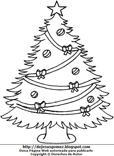 fotos de arboles de navidad para colorear dibujos fotos acrostico y imagenes de arboles de