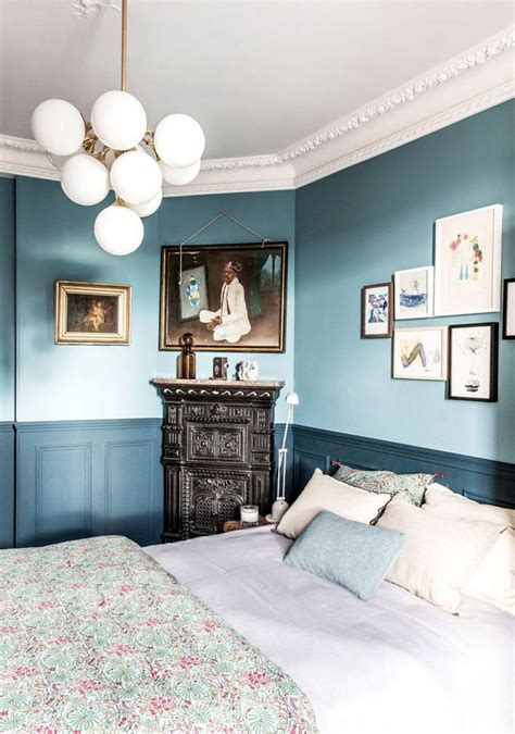 two tone blue bedroom are we ready for the return of two tone walls paint