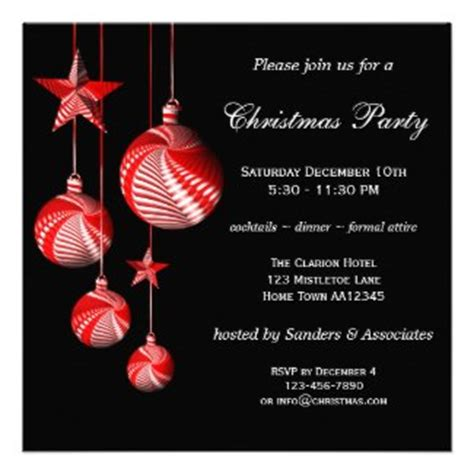 christmas party invitations by anne vis