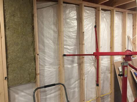 basement blanket insulation framing insulation diy