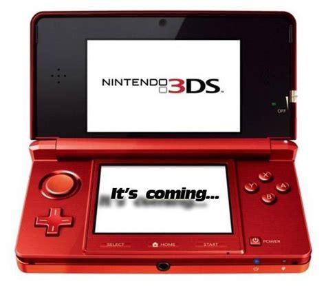 nintendo prima console nintendo 3ds in arrivo a marzo 2011 sar 224 la prima