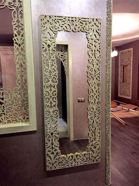 pattern mirror frame mirror laser cut frame kverkus pinterest mirror and