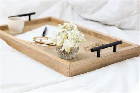 breakfast in bed trays serving tray wood serving tray breakfast tray by homestead1227