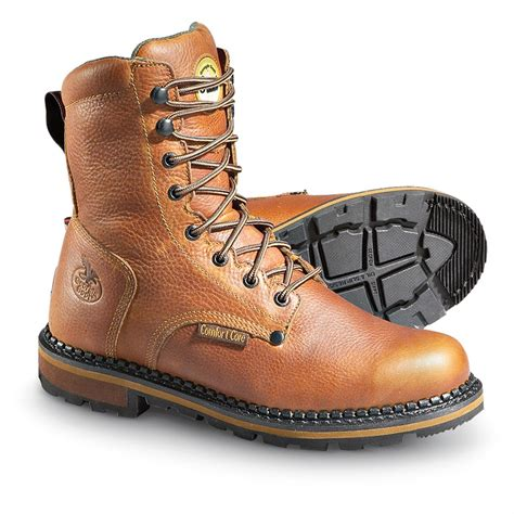 s boot 174 8 quot work boots brown 176431 work