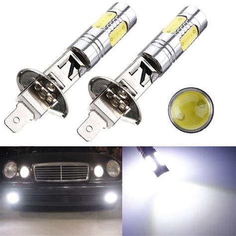 power auto h1 led 7 5w cob drl high power auto driving light l