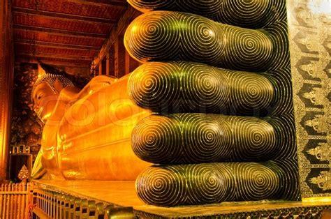 golden reclining buddha bangkok reclining golden buddha wat pho bangkok thailand