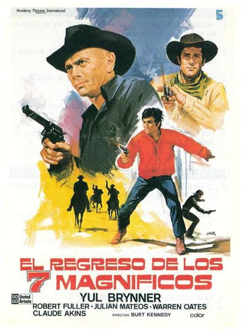 Watch Return Magnificent Seven 1966 Full Movie Return Of The Magnificent Seven Movie Posters From Movie Poster Shop