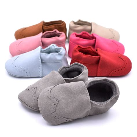 infant shoes autumn baby shoes indoor warm toddler nubuck leather shoes
