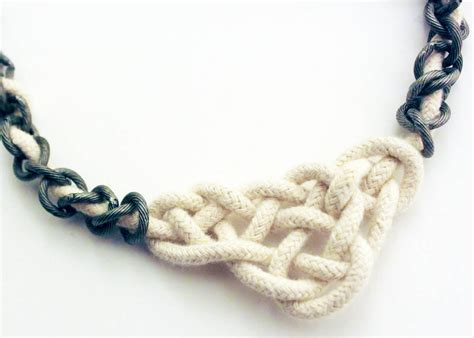 knots for jewelry make a celtic knot necklace 187 dollar store crafts
