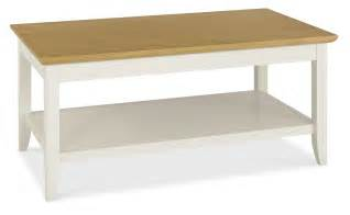 Coffee Table With Shelf Shaker Two Tone Coffee Table With Shelf Oak Furniture