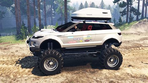 Range Rover Evoque Lrx Lifted For Spin Tires