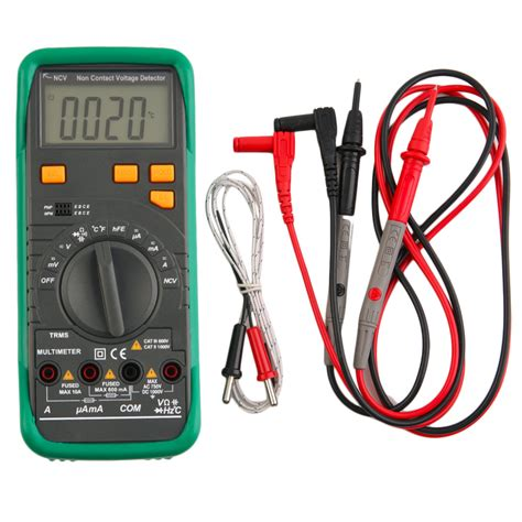 Digital Ohm Volt Meter 2016 high quality digital lcd multimeter voltmeter ammeter