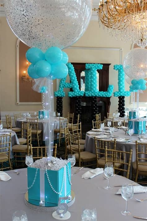 matchy match tiffany blue party my grad party