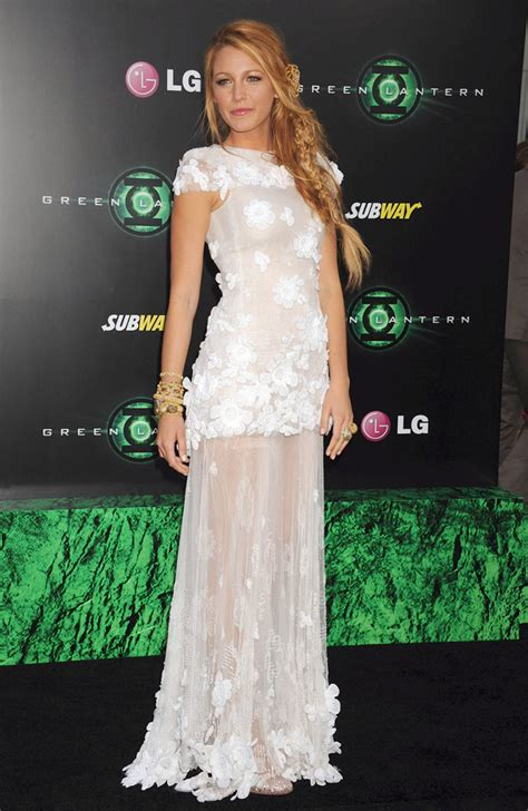 Livelys Haute Couture Experience by Lively Wears Chanel To The La Premiere Of Green