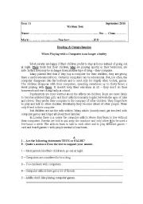 grade worksheets