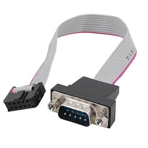 Konektor Db15 2 Baris Kabel Db 15 Cable Soket Socket db9 rs232 to 10 pin ribbon cable connector adapter ts