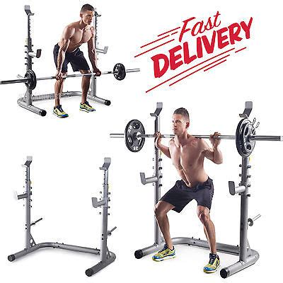 golds gym bench and squat rack golds gym workout squat rack bench weight lifting power
