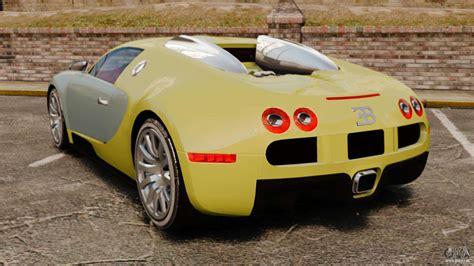 bugatti gold bugatti veyron gold centenaire 2009 pour gta 4