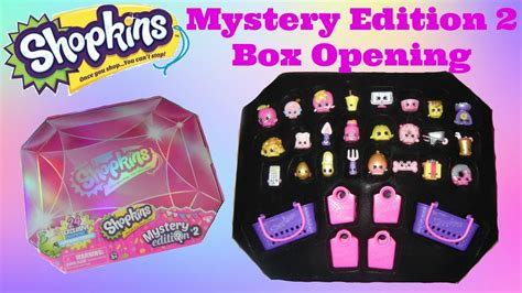 Shopkins Original Mystery Edition 2 shopkins mystery edition 2 box open and reveal see what s inside spkwhatsinside