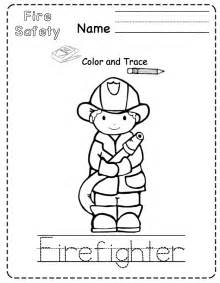 free printable fire safety worksheets preschool