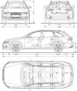 Audi Dimensions 2012 Audi A4 Allroad Dimensions