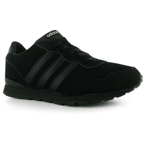 adidas jogger clip trainers mens black black black sneakers shoes