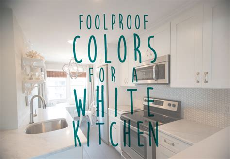 white kitchen colors for your home