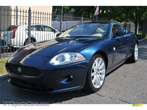 jaguar xk blue 2009 jaguar xk xk8 coupe in indigo blue b30780