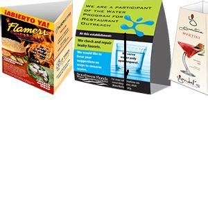 17 Best Images About Table Tent Printing On Pinterest Table Tent Printing