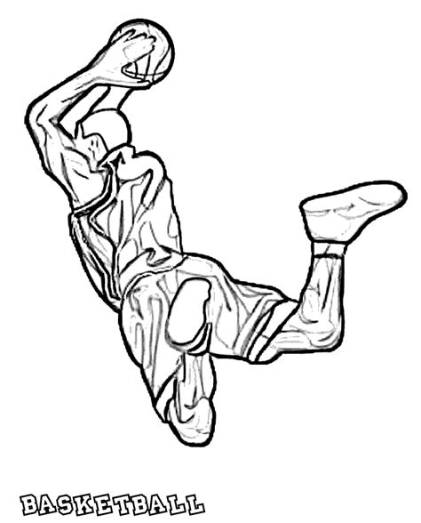 basketball coloring pages 12 coloring kids