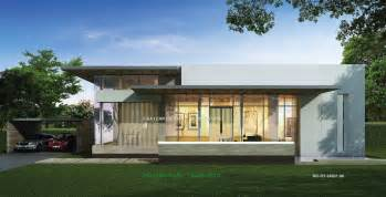One Story Modern House Plans Cgarchitect Professional 3d Architectural Visualization