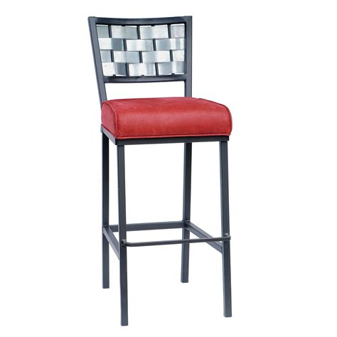 Wrought Iron Bar Stool Rushton Square Bar Stool 25 Quot