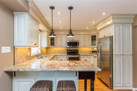 Granite Countertops Barrie by Custom Kitchen Renovation In Thornhill Canadiana