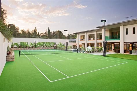 backyard tennis how much does a tennis court cost hipages com au