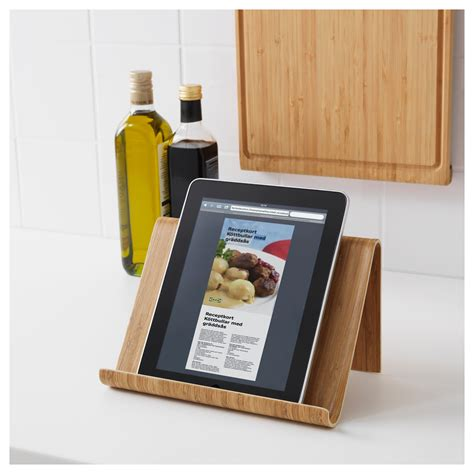 Sale Ikea Isberget Stand Tablet rimforsa tablet stand bamboo 26x17 cm ikea