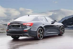 Maserati Guibli Maserati Ghibli Receives The Mansory Tuning Treatment