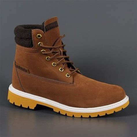 new mens adidas neo utility fur lined comfort warm fashion brown ankle boots ebay