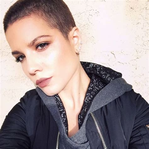 exclusive halsey on shaved heads gray lipstick and why