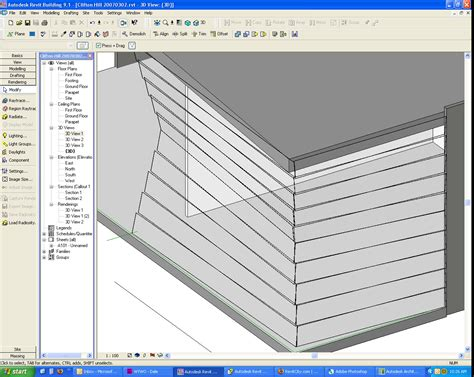 sloped curtain wall revitcity com angled curtain walls not sloping glazing