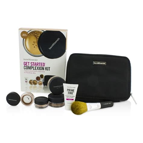 Flawless Skin With Bare Minerals Bglam by Bareminerals Get Started Complexion Kit For Flawless Skin