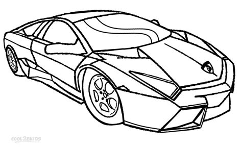 Coloring Lamborghini Printable Lamborghini Coloring Pages For Cool2bkids