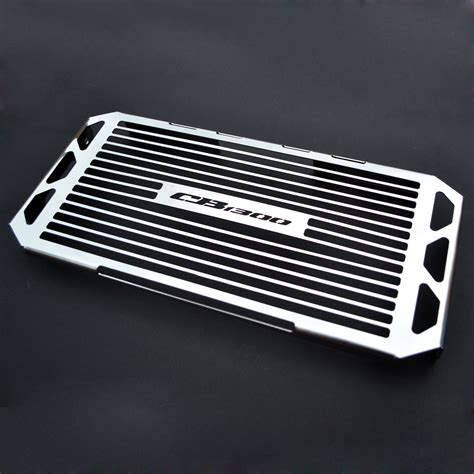 Cover Radiator Stainless Vixion honda cb 1300 01 06 stainless steel radiator cover guard grill