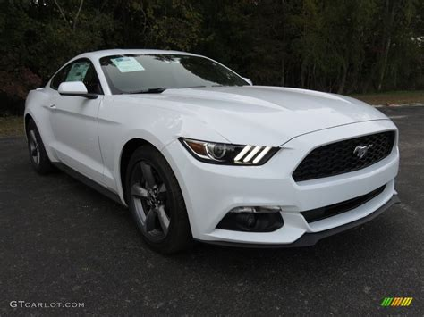 white mustang 2016 oxford white ford mustang v6 coupe 108755079 photo
