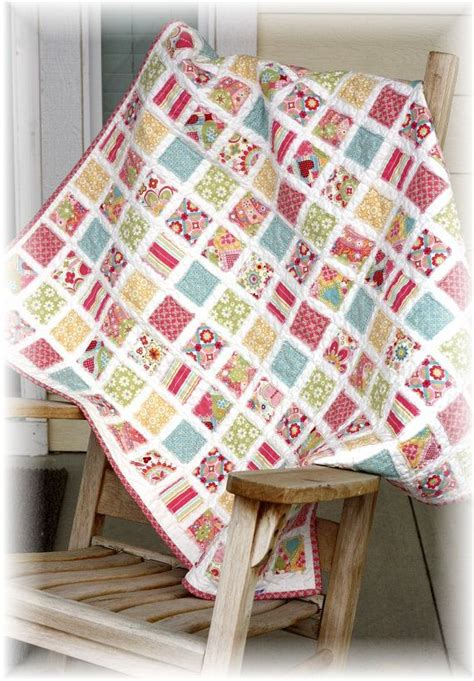 Vintage Baby Quilt Pattern by Vintage Baby Quilt Pattern 40 By 40 Inches