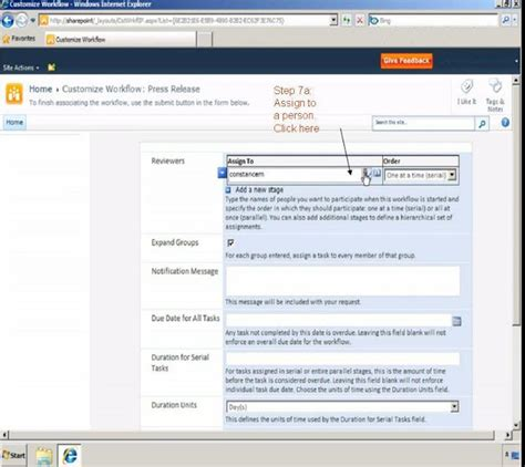 creating a workflow in sharepoint 2010 sharepoint journey create a new workflow for a sharepoint